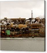Smelter Works Canvas Print