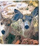 Smidgeon And Rudi 2 Canvas Print