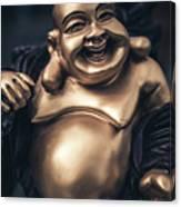 Smiling Buddha Canvas Print