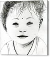 Smiling Child Canvas Print