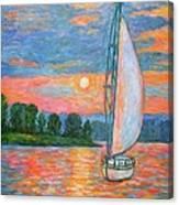 Smith Mountain Lake Canvas Print