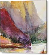 Smith Rock Fall Morning 2 Canvas Print