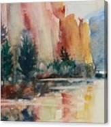 Smith Rock Morning 1 Canvas Print