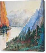Smith Rock Morning 2 Canvas Print