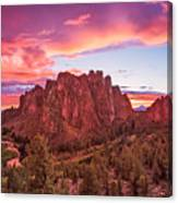Smith Rock Sunset Canvas Print