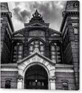 Smithsonian Arts And Industries Building Canvas Print