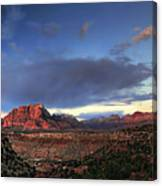 Smithsonian View Of Zion Canvas Print