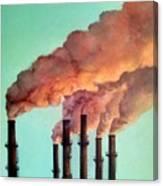 Smog Industrial II Canvas Print