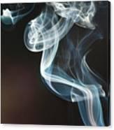 Smoke 10 Canvas Print