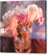 Smoke And Flowers Canvas Print