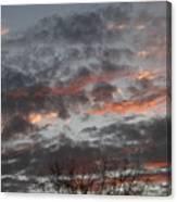 Smoke Like Clouds Canvas Print