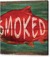 Smoked Fish Canvas Print