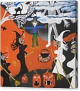Smokey Halloween Canvas Print