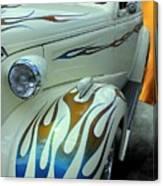 Smokin' Hot - 1938 Chevy Coupe Canvas Print