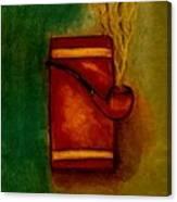 Smoking Pipe Canvas Print