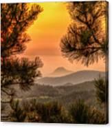 Smoky Black Hills Sunrise Canvas Print