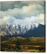 Smoky Clouds On A Thursday Canvas Print