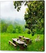 Smoky Mountain Morning Canvas Print