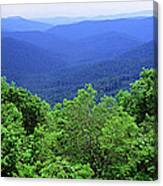 Smoky Mountain National Park Canvas Print
