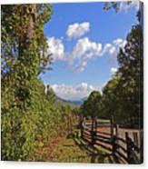 Smoky Mountain Scenery 12 Canvas Print