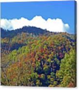 Smoky Mountain Scenery 6 Canvas Print