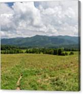 Smoky Mountains Cades Cove 1 Canvas Print