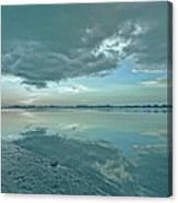 Smooth Blues Canvas Print