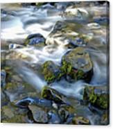 Smooth Brook Panorama Canvas Print