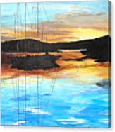 Smooth Sailing 1 Canvas Print