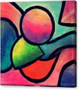 Smooth Shape Canvas Print