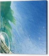 Smooth Wave Tube Canvas Print
