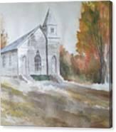 Smyth Chapel, Emory, Virginia Canvas Print