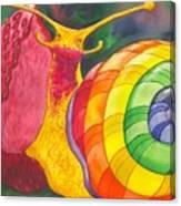 Snail Nirvana Canvas Print