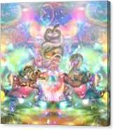 Snake Moon Canvas Print