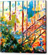 Snake River Bridge Canvas Print