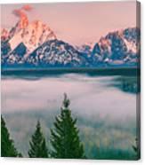 Snake River Overlook - Grand Teton National Park Canvas Print
