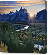 Snake River Overlook Canvas Print