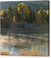Snake River Sunrise Canvas Print