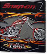 Snap-on Chopper Canvas Print