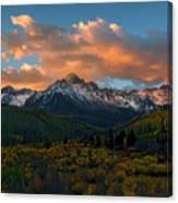 Sneffels Autumn Sunrise Canvas Print