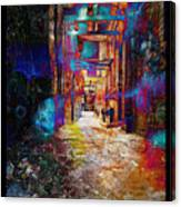 Snickelway Of Light Canvas Print