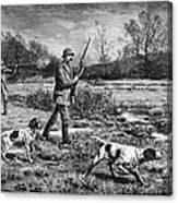 Snipe Hunters, 1886 Canvas Print