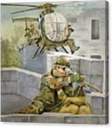 Sniper Military Tribute Canvas Print