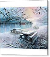 Snow Blanket Canvas Print