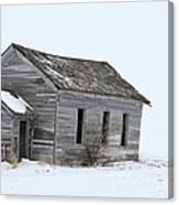 Snow Bound Canvas Print