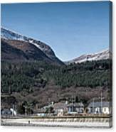 Snow Capped Mourne Mountains Canvas Print