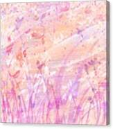 Snow Flowers Canvas Print