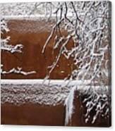 Snow In Santa Fe New Mexico Canvas Print