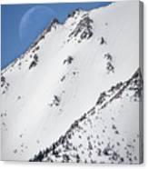 Snow Moon Canvas Print