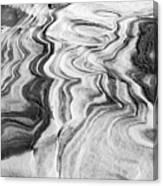 Snow Shapes Viii Canvas Print